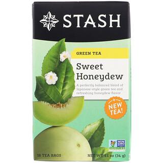 Stash Tea, Green Tea, Sweet Honeydew, 18 Tea Bags, 1.1 oz (34 g)