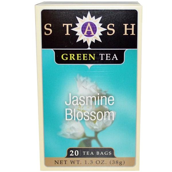 Stash Tea, 茉莉花,綠茶,20 茶袋,1、3 盎司(38 克)