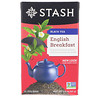 Stash Tea, Black Tea, English Breakfast, 20 Tea Bags, 1.4 oz (40 g)