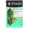 Stash Tea, Green Tea, Moroccan Mint, 20 Tea Bags, 0.9 oz (26 g)
