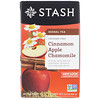 Stash Tea, Herbal Tea, Cinnamon Apple Chamomile, Caffeine Free, 20 Tea Bags, 1.4 oz (40 g)