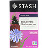 Stash Tea, Herbal Tea, Yumberry Blackcurrant, Caffeine Free, 20 Tea Bags, 1.1 oz (32 g)
