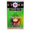 Stash Tea, Chai Green Tea, 20 Tea Bags, 1.3 oz (38 g)