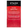 Stash Tea, Black Tea, Double Spice Chai, 18 Tea Bags, 1.1 oz (33 g)