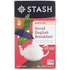 Stash Tea, Black Tea, Decaf English Breakfast, 18 Tea Bags, 1.2 oz (36 g)