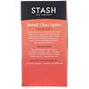 Stash Tea, Black Tea, Decaf Chai Spice, 18 Tea Bags, 1.1 oz (33 g)