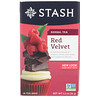 Stash Tea, Herbal Tea, Red Velvet, 18 Tea Bags, 1.2 oz (36 g)