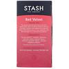 Stash Tea, Herbal Tea, Red Velvet, 18 Tea Bags, 1.2 oz (36 g) (Discontinued Item)