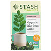 Stash Tea, Herbal Tea, Organic Moringa Mint, Caffeine-Free, 18 Tea Bags, 0.8 oz (23 g)