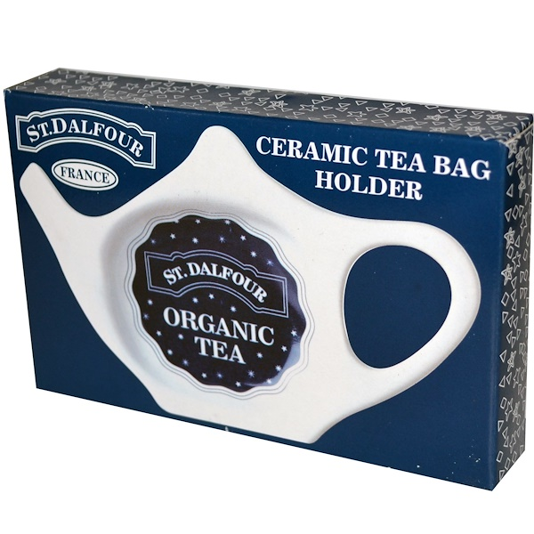 St. Dalfour, Ceramic Tea Bag Holder (Discontinued Item)