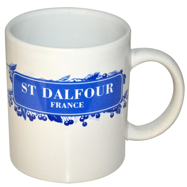 St. Dalfour, Ceramic, Tea Cup (Discontinued Item)