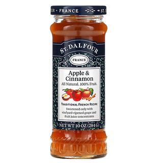 St. Dalfour, Apple & Cinnamon, Deluxe Apple & Cinnamon Spread, 10 oz (284 g)