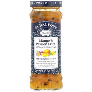 St. Dalfour, Mango & Passion Fruit, Deluxe Mango & Passion Fruit Spread, 10 oz (284 g)