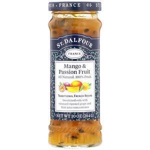 Ст Далфур, Mango & Passion Fruit, Deluxe Mango & Passion Fruit Spread, 10 oz (284 g) отзывы покупателей