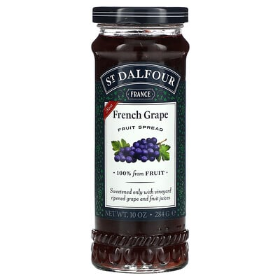 St. Dalfour French Grape Fruit Spread, 10 oz (284 g)