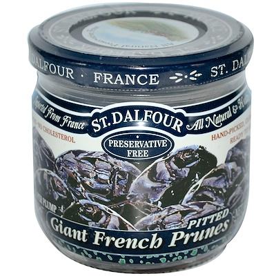 Giant French Prunes (Гигантский французский чернослив), без косточек, 200 г (7 унций)