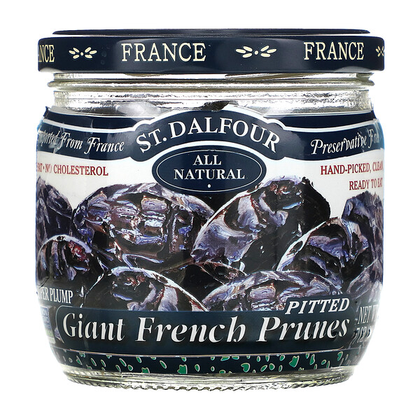 Giant French Prunes, Pitted, 7 oz (200 g)