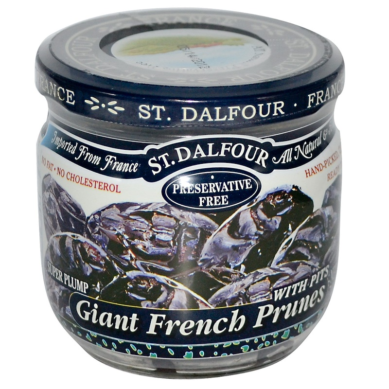 Giant French Prunes with Pits, 7 oz (200 g)
