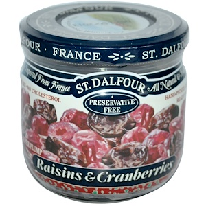 Ст Далфур, Raisins & Cranberries, 7 oz (200 g) отзывы покупателей