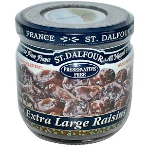Ст Далфур, Extra Large Raisins, 7 oz (200 g) отзывы