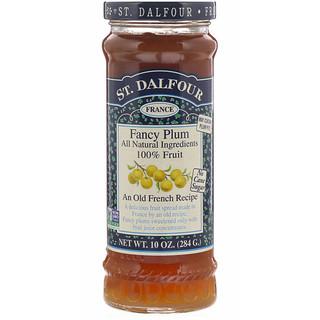 St. Dalfour, Fancy Plum, Fruit Spread, 10 oz (284 g)