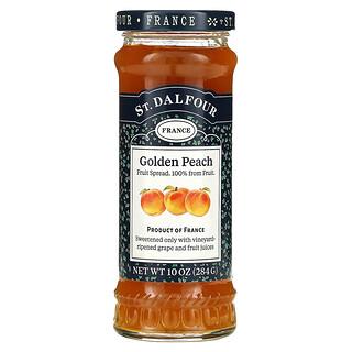 St. Dalfour, Золотой персик, высококачественный спред из золотого персика, 10 унций (284 г)