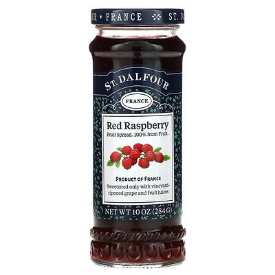 St. Dalfour Deluxe Red Raspberry Spread, 10 oz (284 g)