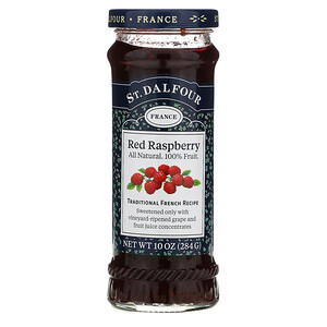St. Dalfour, Deluxe Red Raspberry Spread, 10 oz (284 g)