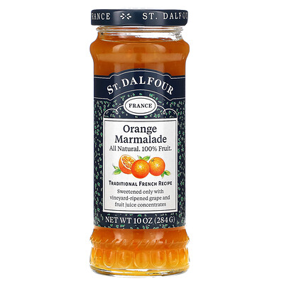 Купить St. Dalfour Deluxe, апельсиновый мармеладный джем, 284г (10унций)