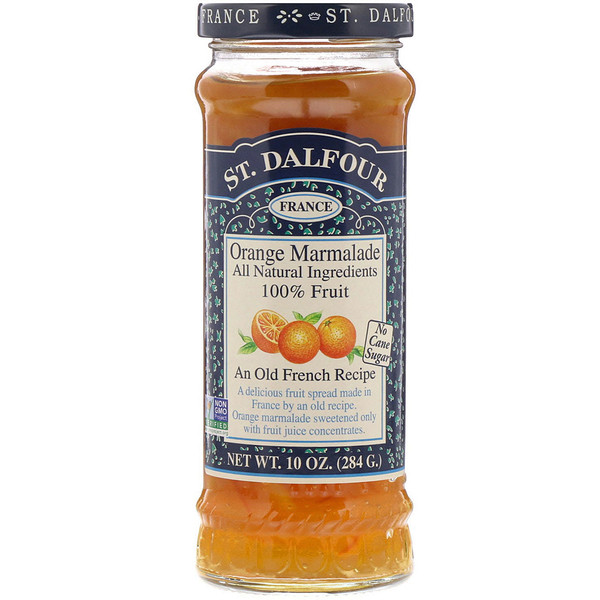St. Dalfour, Orange Marmalade, Deluxe Orange Marmalade Spread, 10 oz (284 g)