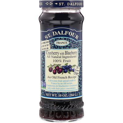 Клюква, Клюква Делюкс с черничным джемом, 10 унций (284 г) цена