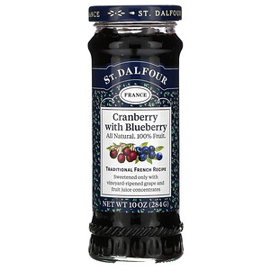 Ст Далфур, Cranberry with Blueberry Fruit Spread, 10 oz (284 g) отзывы покупателей