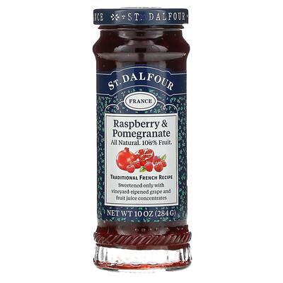 Купить St. Dalfour Deluxe, джем из красной малины и граната, 284г (10унций)