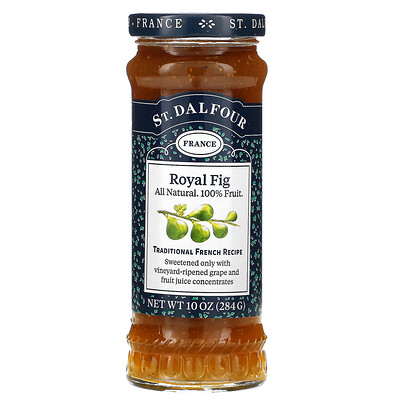 St. Dalfour Deluxe Royal Fig Spread, 10 oz (284 g)