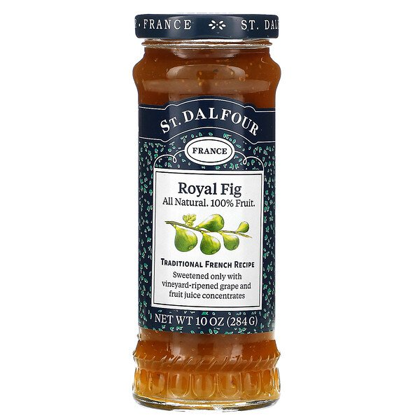 St. Dalfour, Deluxe Royal Fig Spread, 10 oz (284 g)