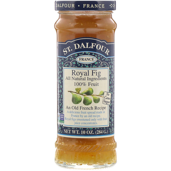 St. Dalfour, サンダルフォー, Royal Fig, Fruit Spread, 10 oz (284 g)