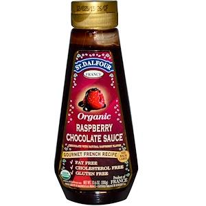 Ст Далфур, Organic Raspberry Chocolate Sauce, 10.6 oz (300 g) отзывы