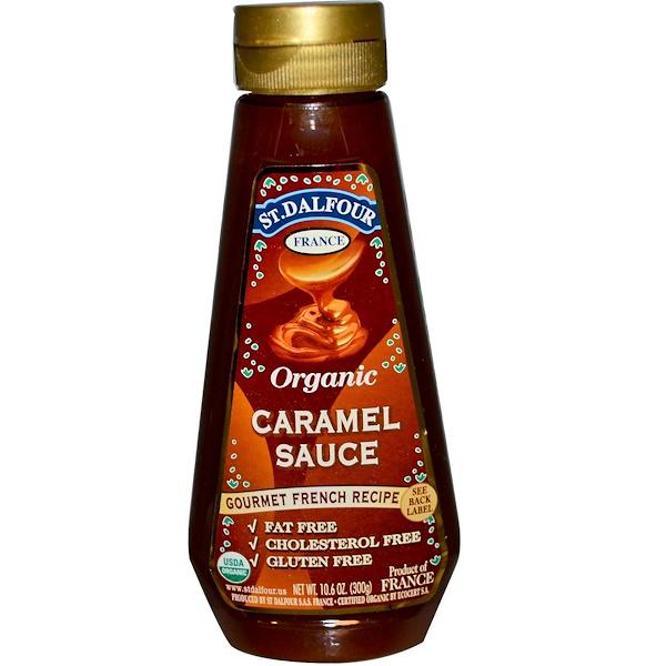 St. Dalfour, Organic Caramel Sauce, 10.6 oz (300 g) (Discontinued Item)