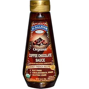 Ст Далфур, Organic Coffee Chocolate Sauce, 10.6 oz (300 g) отзывы