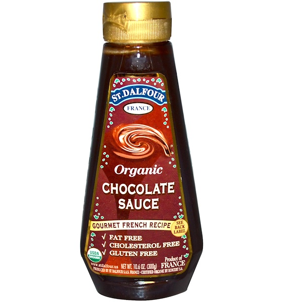St. Dalfour, Organic Chocolate Sauce, 10.6 oz (300 g) (Discontinued Item)