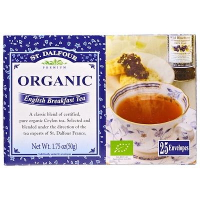 Органический чай English Breakfast, 25 пакетиков, 50 г