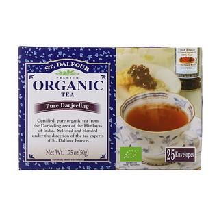 St. Dalfour, Organic Pure Darjeeling Tea, 25 Tea Bags, 1.75 oz (50 g)