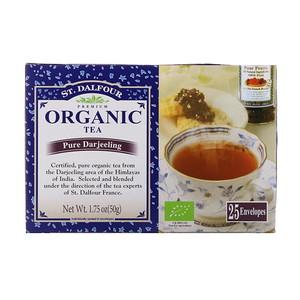 Ст Далфур, Organic Pure Darjeeling Tea, 25 Tea Bags, 1.75 oz (50 g) отзывы