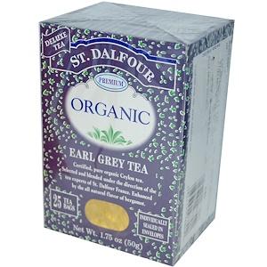 Ст Далфур, Organic, Earl Grey Tea, 25 Tea Bags, 1.75 oz (50 g) отзывы покупателей