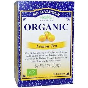 Ст Далфур, Organic, Lemon Tea, 25 Envelopes, 1.75 oz (50 g) отзывы покупателей