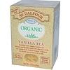 St. Dalfour, Органический чай с ванилью, 25 пакетиков, 1,75 унции (50 г)