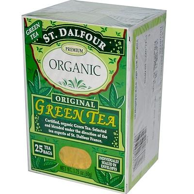 Натуральный особый зеленый чай, 25 пакетиков, 1.75 унций (50 г)