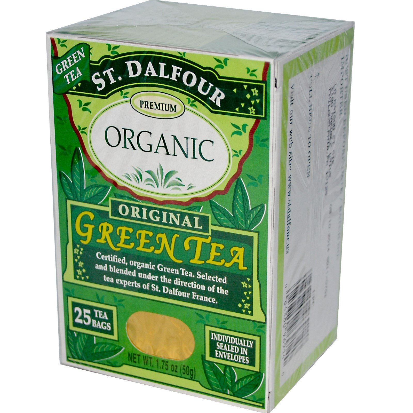 Image result for st dalfour organic green tea