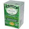 St. Dalfour, Органический, зеленый чай с ароматом весенней мяты, 25 чайных пакетиков, 1.75 унций (50 г)