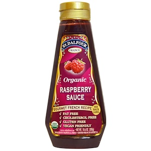 Ст Далфур, Organic Raspberry Sauce, 10.6 oz (300 g) отзывы